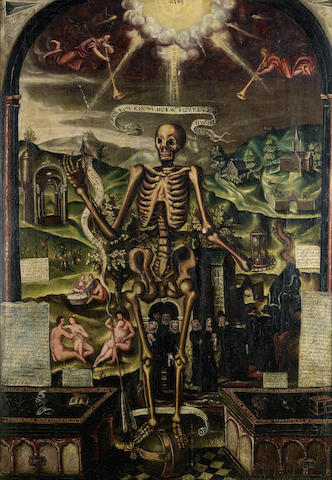 English School circa 1600 An Allegory of Death