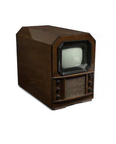 A Cossor television, type 437T table model, 1937,
