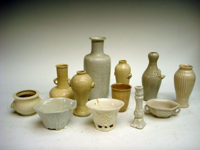 A collection of blanc de chine 18th / 19th century