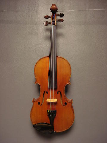 A French Violin by H. Emile Blondelet, 1925 (1)