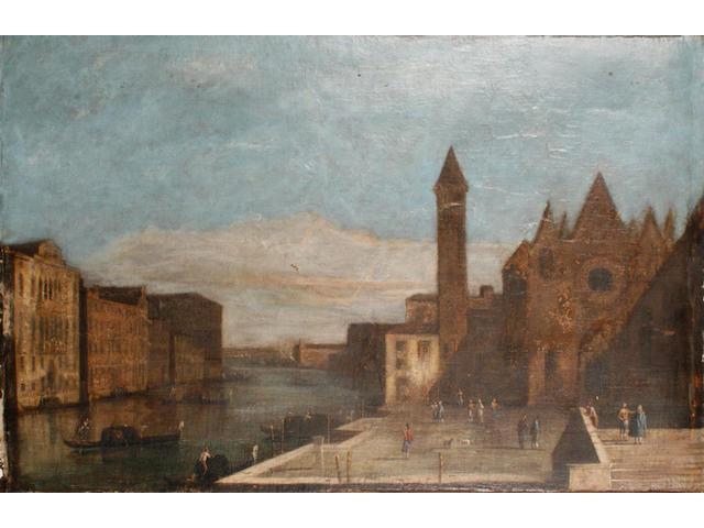 Manner of Michele Marieschi, circa 1800 Venice