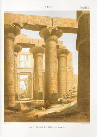 LEPSIUS (CARL RICHARD) Denkmäler aus Ägypten und Äthipien, 6 parts of plates in 12 vol.