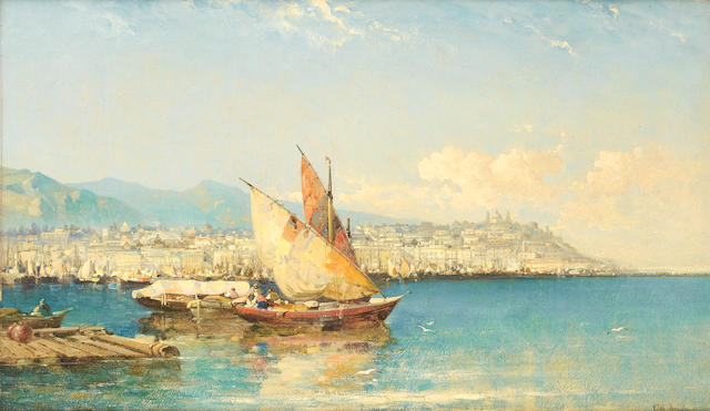 Arthur Joseph Meadows (British, 1843-1907) Genoa