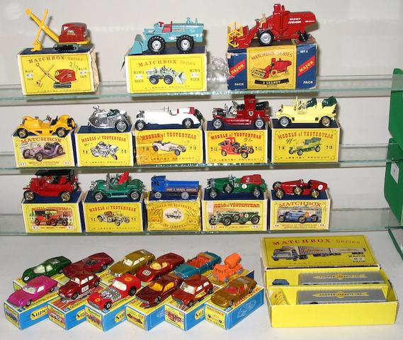 Matchbox 1-75's Superfast, Yesteryears and others 26