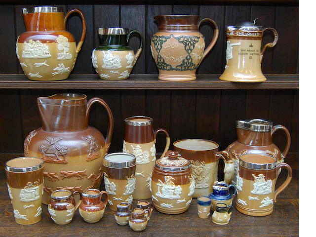 A collection of Doulton Harvest wares