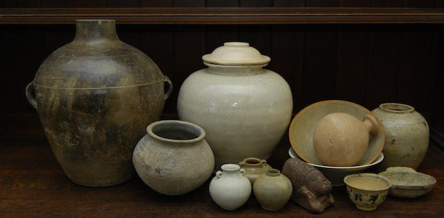 A small collection of Chinese ceramics