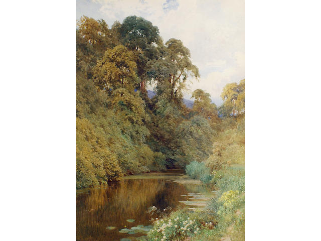 Harry Sutton Palmer, R.I. (British, 1854-1933) The River Mole, near Dorking