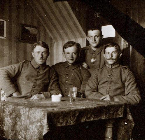 WORLD WAR I Album comprising snapshots of Gallipoli, Beaumont Hamel, 1916, and Peru and Bolivia by Luis D. Gismondi