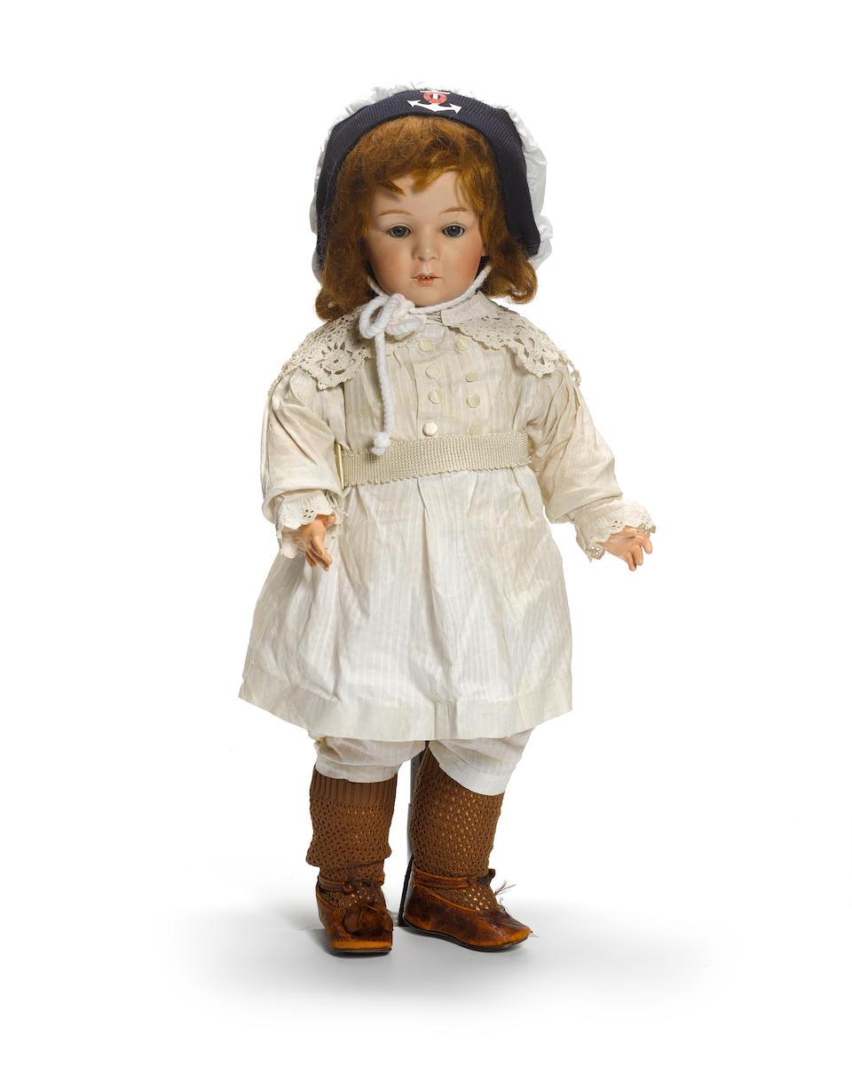 Gebruder Heubach bisque head doll 3