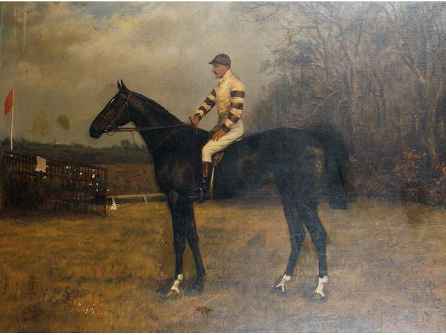 Godfrey Douglas Giles (British, 1857-1923) Dunboyne - Major W.F. Ricardo up