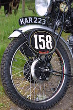 The ex-works, ISDT,1948 Vincent-HRD 998cc Series-B Rapide Frame no. R2919 Engine no. F10AB/1/929