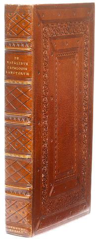 NATALIBUS (PETRUS DE) Catalogus sanctorum: vitas, passiones & miracula commodissime annectens: ex voluminibus selectus