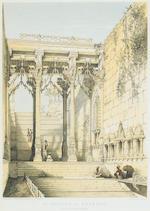 Thomas Colman Dibdin (British, 1810-1893) Exterior of Chaitya Cave, Ajanta, Maharashtra; Interior of Chaitya Cave, Ajanta, both India, a pair ; 23 x 32.3cm (9 1/16 x 12 11/16 in)