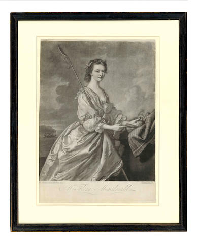SCOTLAND, REBELLION RAY (JAMES) A Compleat History of the Rebellion... in 1745... the Glorious Battle of Culloden...  together with Arbuthnot's Life of Lord Lovat and framed mezzotint of Flora Macdonald