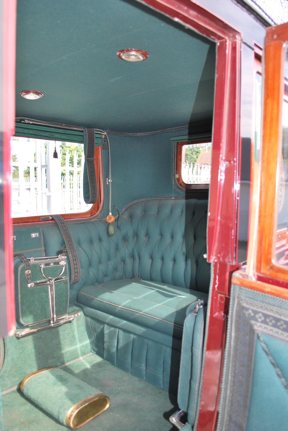 1906 Berliet 40hp 6.3 litre Open Drive Limousine  Chassis no. 582 Engine no. 627