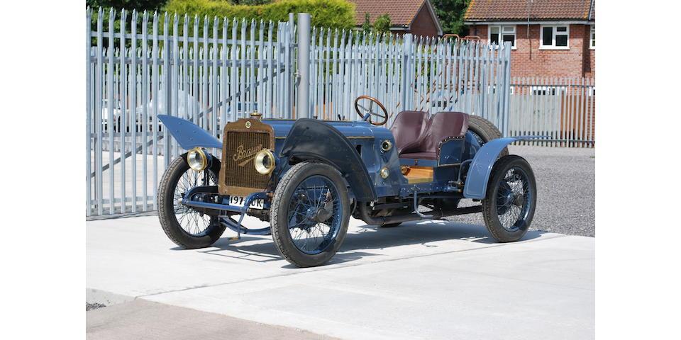 1908/09 Brasier Grand Prix Special, Chassis no. C105/12/CHX210 Engine no. 210