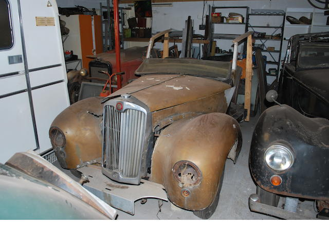 c.1951 Lea-Francis 14hp 'Woody' Shooting Brake  Chassis no. to be advised Engine no. to be advised