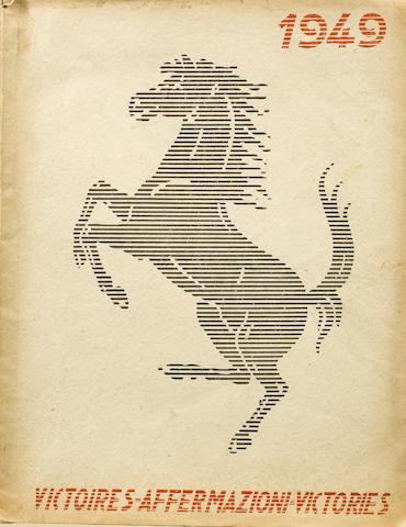 A 1949 Ferrari Yearbook,