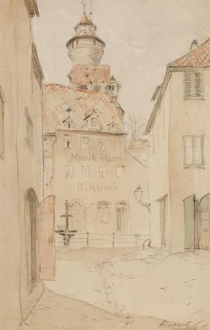Arthur Rackham (British, 1867-1939) Nuremburg