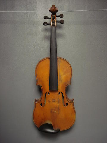 A French Violin, circa 1900 (3)