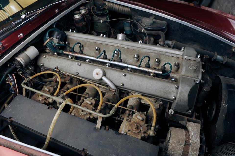 The ex-Turin Motor Show,1966 Aston Martin DBSC Coupé  Chassis no. DBS C/266/1/R Engine no. 400/2774/VC