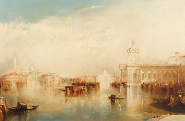 Follower of Joseph Mallord William Turner (British, 1775-1851) A Venetian Capriccio