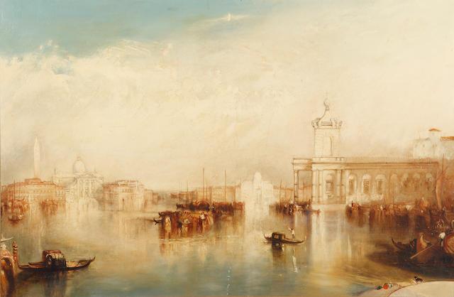Follower of Joseph Mallord William Turner (British, 1775-1851) A Venetian Capriccio