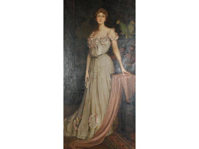 Lydia Amanda Brewster Sewell (American, 1859-1926), c.1910 Portrait of Florida Scott-Maxwell (née Pi