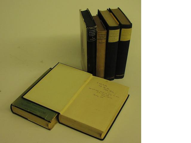 Dr Edward Wilson- A small collection of books,
