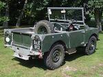 "1949 Land Rover Series One 80""  Chassis no. 06104822 Engine no. 06104002"
