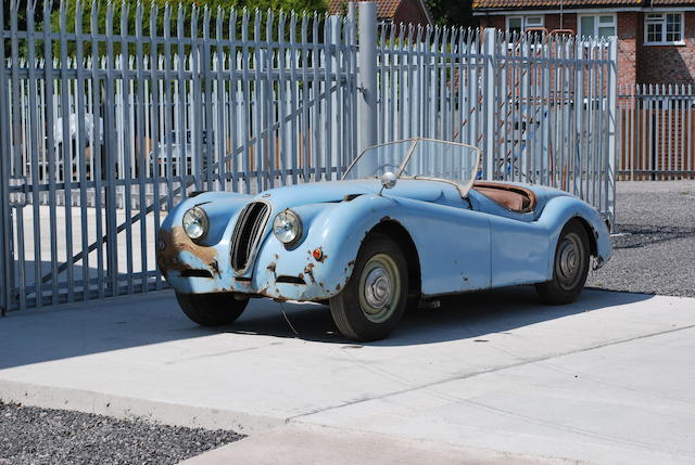 1950 Jaguar XK120 Roadster, Chassis no. 660279 Engine no. A9791-7
