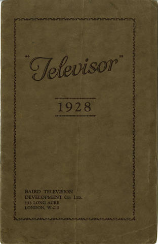 Baird Television Development Co. Ltd.,  Televisor,