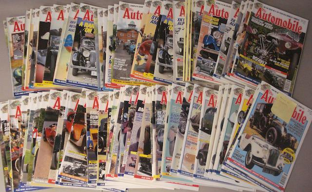 A run of Automobile magazine,