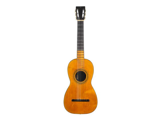A Spanish Guitar by Josef Pages, Cadiz, 1809 (2)