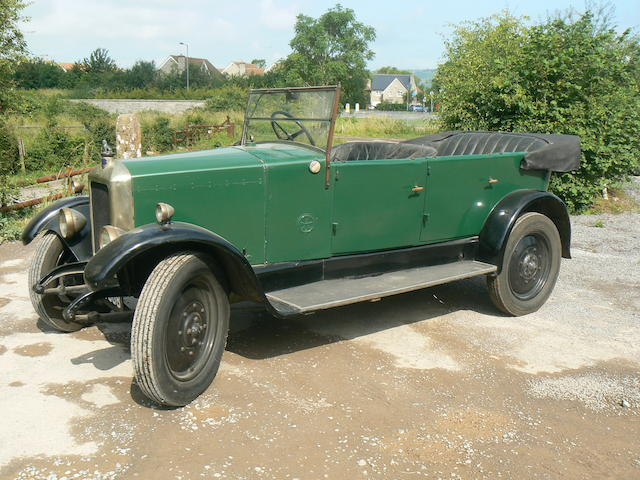 1926 Armstrong-Siddeley 14hp Cotswold Tourer  Chassis no. AS20106 Engine no. 17657