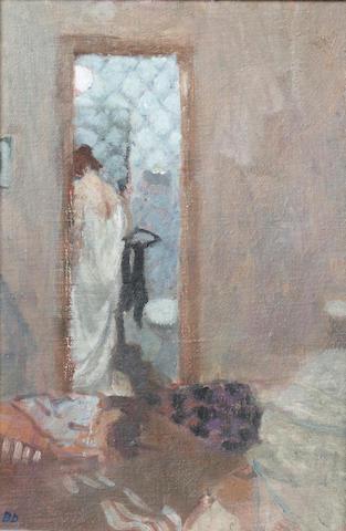 Bernard Dunstan, R.A. (British, born 1920) The Little Bathroom, Venice