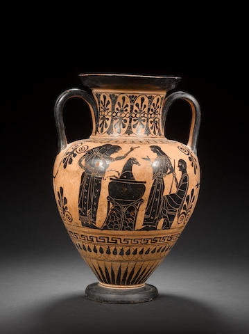An Attic black-figure neck amphora