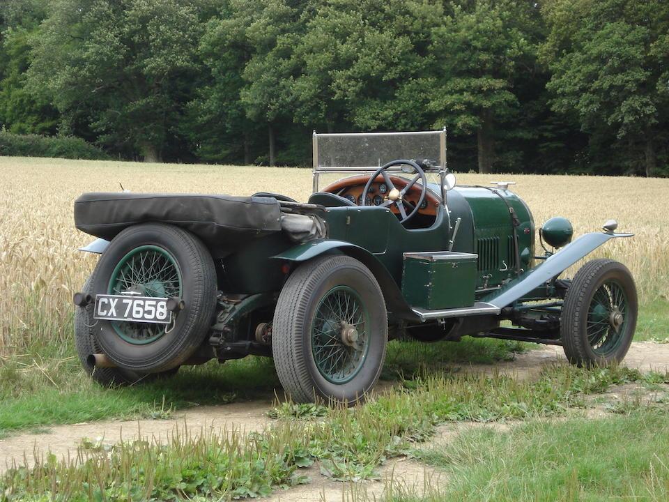 1925 Bentley 3/4½-Litre Tourer  Chassis no. HP388 Engine no. XR3349