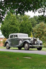 1933 Rolls-Royce 40/50hp Phantom II Continental Sports Saloon  Chassis no. 36PY Engine no. MA25