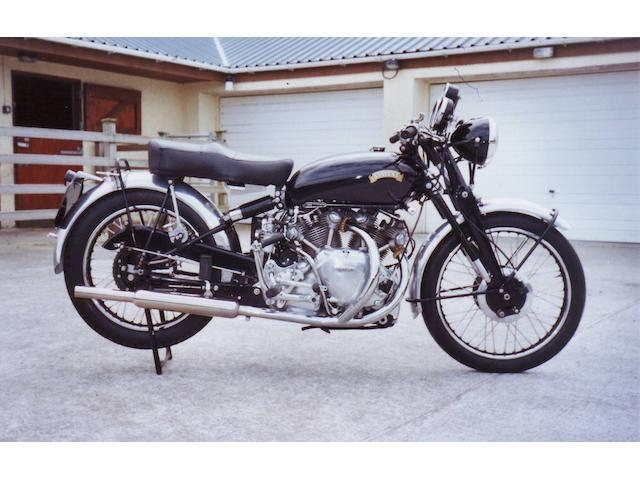 1951 Vincent 998cc Rapide Series C  Frame no. RC9168/D Engine no. F10AB/1/7268
