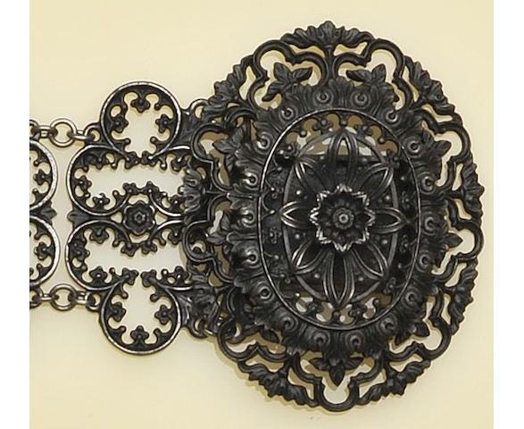 A Berlin ironwork bracelet