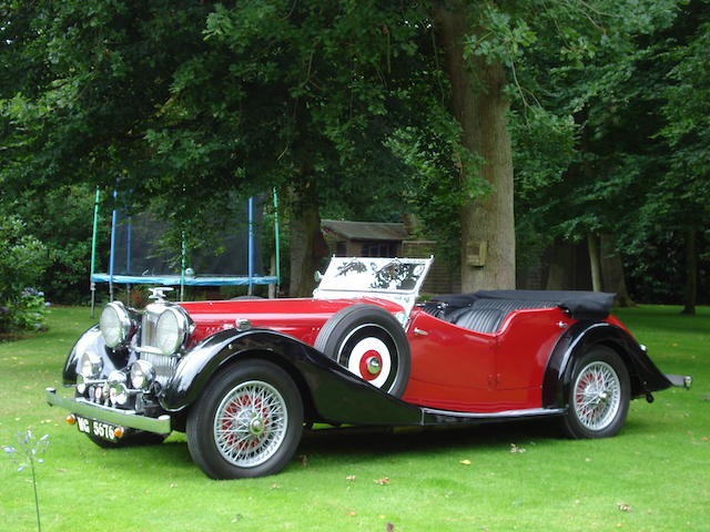 1936 Alvis Speed Twenty-Five Tourer  Chassis no. 13370 Engine no. 14053