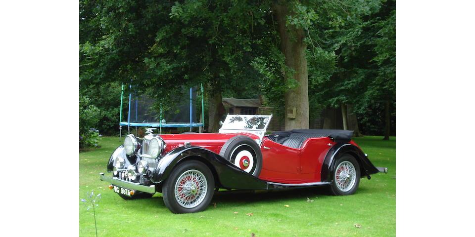 1936 Alvis Speed Twenty-Five Tourer  Chassis no. 13370 Engine no. 14053