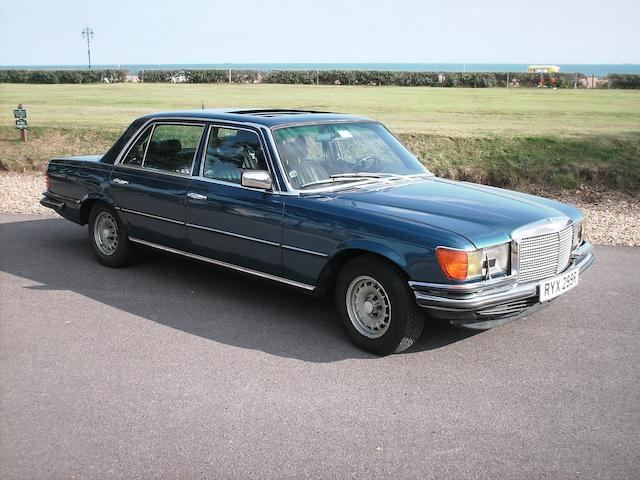 1976 Mercedes-Benz 450SEL 6.9 Saloon  Chassis no. 116036 12 001331