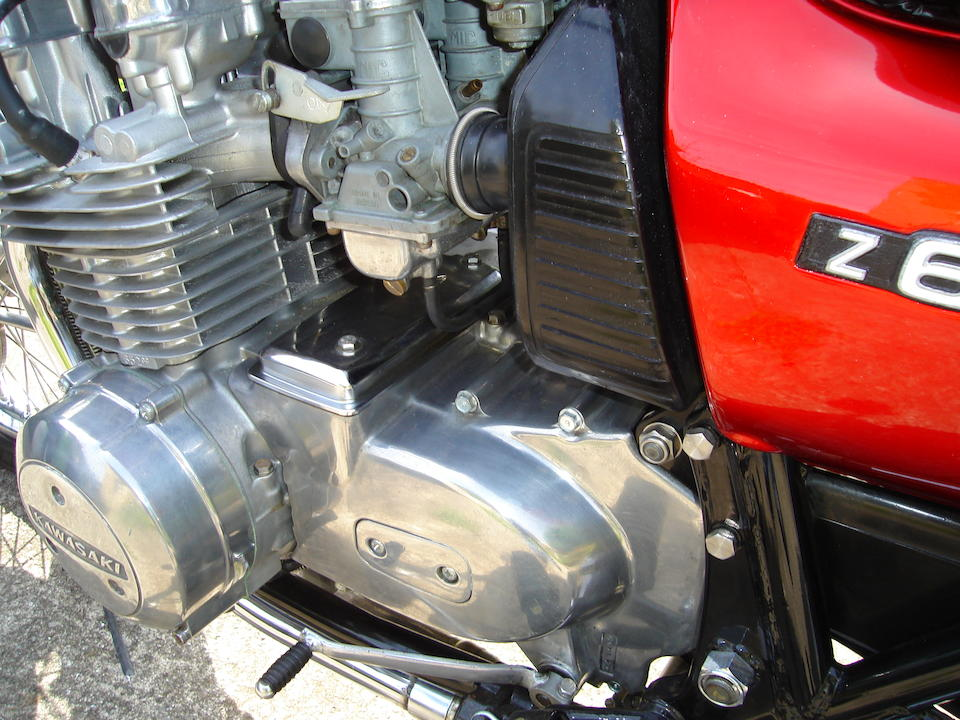 Bonhams : 1977 Kawasaki Z650 B1 Frame no  KZ650B 003740