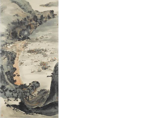 Liu Shou Kwan, Tin Hau Festival, watercolour