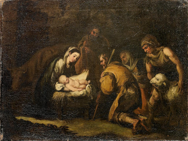 Attributed to Francisco Antolinez Sarabia, Adoration of the Shepherds