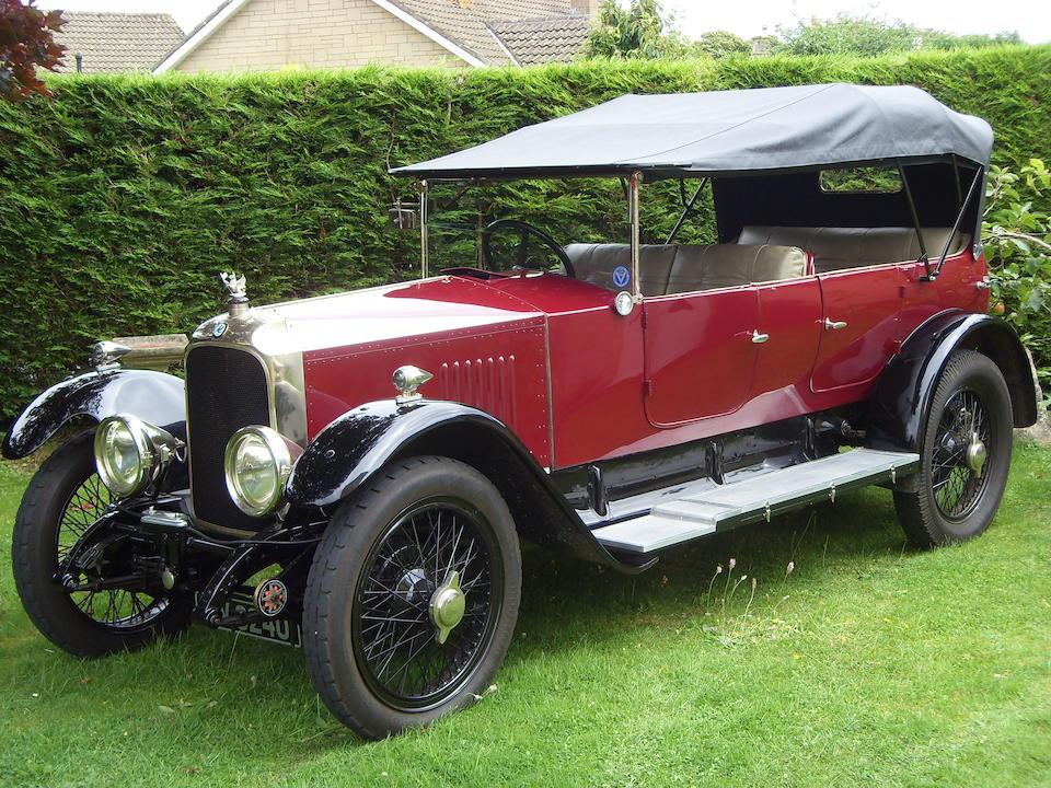 1923 Vauxhall Type OD 23/60hp Kington Tourer  Chassis no. OD 1001 Engine no. OD 995