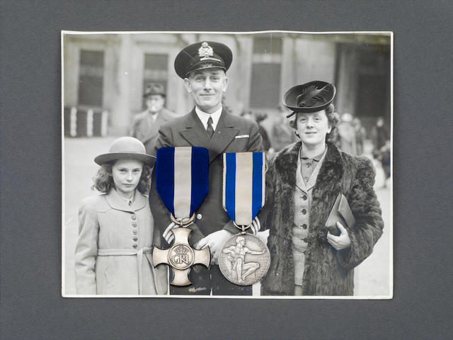 A Second World War D.S.O. and Lloyd's Medal group of five to Chief Engineer A.H.Hughes, Merchant Navy,