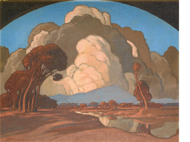 Jacob Hendrik Pierneef (South African, 1886-1957) Meintjeskop, Pretoria